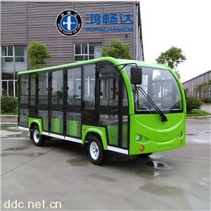 鴻暢達全封閉14座大型景區電動觀光車