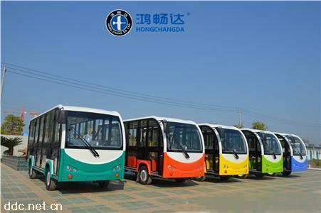鸿畅达18座旅游游览电动观光车