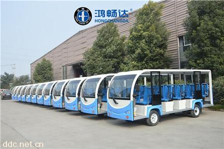 鸿畅达23座电动旅游观光游览车