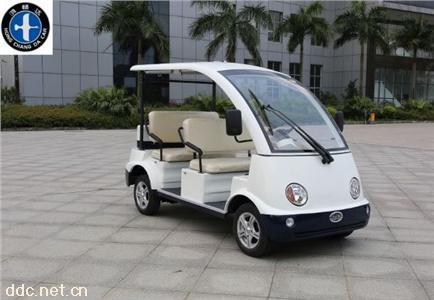 2020新款鸿畅达4座电动观光车