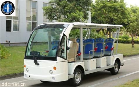 景区全自动新款14座电动观光车