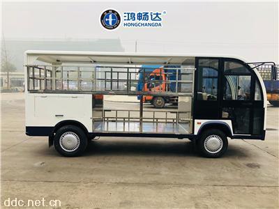广东鸿畅达电动餐车电动送餐车电动定制货车厂家报价