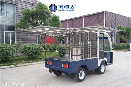 供应电动餐车电动送餐车电动货车私人定制