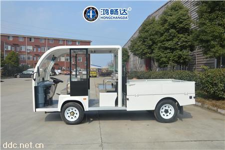 电动货车电动平板车广东鸿畅达定做各种规格货车送餐车