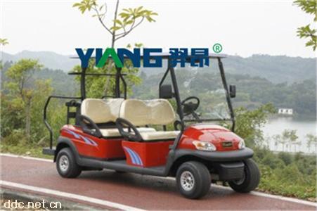 山东4座电动高尔夫球车 景区旅游观光车