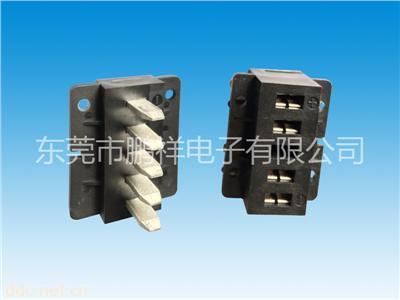 30A大电流5芯电动电瓶车锂电池充电口接插件