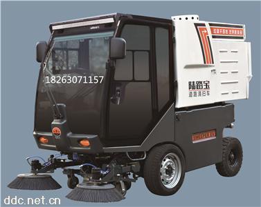 垃圾自卸式电动扫地车