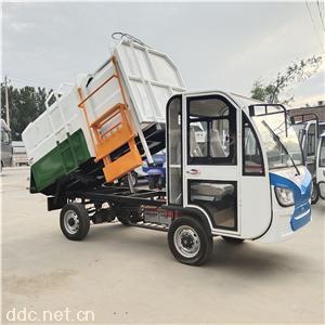 4立方电动挂桶式垃圾车
