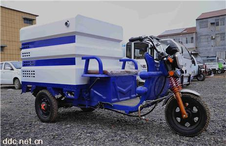 电动三轮小型高压清洗车