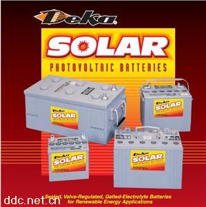 美国DEKA德克蓄电池Solar胶体系列