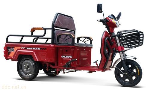 欧皇电动重三轮车1.1米休闲平板
