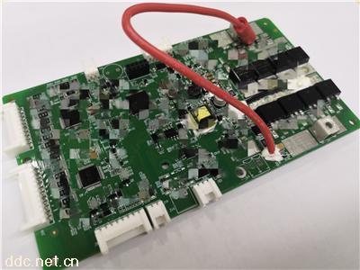 滑板车BMS锂电池保护板48V16串20A同口