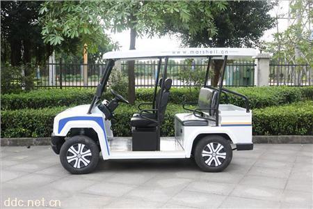 新綠環白色4座電動巡邏車