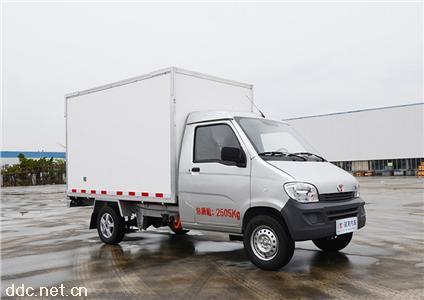 延龙牌纯电动厢式运输小型货车
