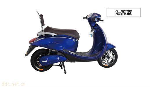 松吉电动摩托车天鹅
