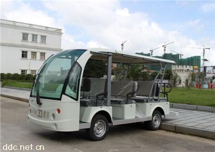 景区游览11座电动观光车