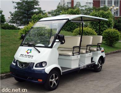 绿能达6座电动观光车