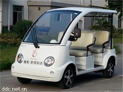 绿能达4座电动观光车