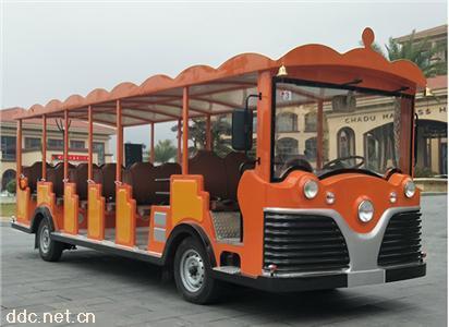 景区运营大座位23座电动观光车