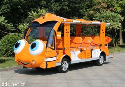 主题公园个性化定制14座电动观光车