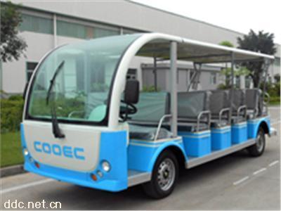景区运营23座电动观光车