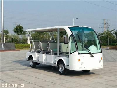 绿能达可定制颜色11座电动观光车