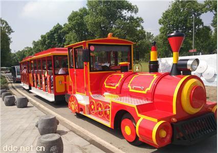 绿能达锂电多款颜色42座电动观光小火车