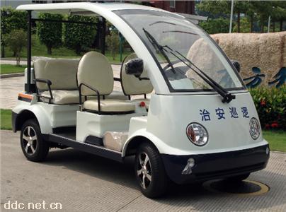 绿能达5座电动巡逻车