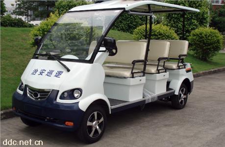 绿能达8座电动巡�逻车