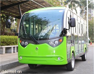 绿能达�豪华高配14座电动封闭◆观光车