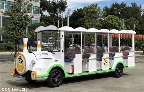 绿能达可定制【唯一官网】颜色小火车★款14座电动观光车