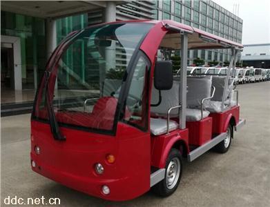 绿能达可定制颜色8+3座电动观光车