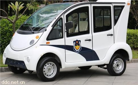 绿能达五座钣金外壳可加装空调电动巡逻车