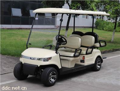 綠能達4+2電動高爾夫球車