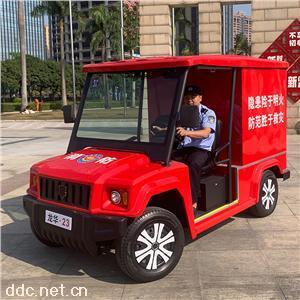 公园景区电动消防巡逻车