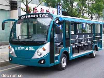 【綠能達】18座電動光車旅游巴士