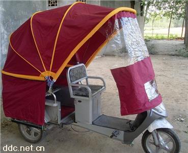 电动三轮车万能折叠车蓬