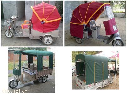 电动三轮车折叠车蓬