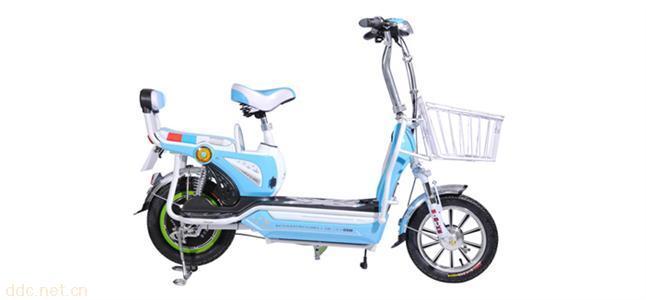 莫拉克电动车可酷二代自行车