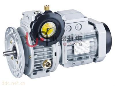 UD02万鑫无极调速涡轮减速电机