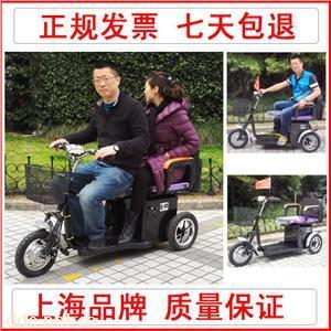 斯雨特双人座老年三轮电动车JY2102双人智能