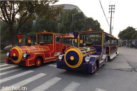 电动观光车主题公园电动无轨小火车