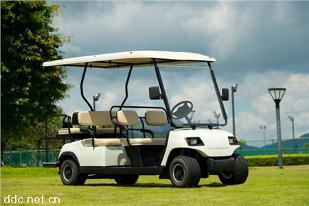 6+1座高尔夫观光车 别墅巡逻电动高尔夫球车