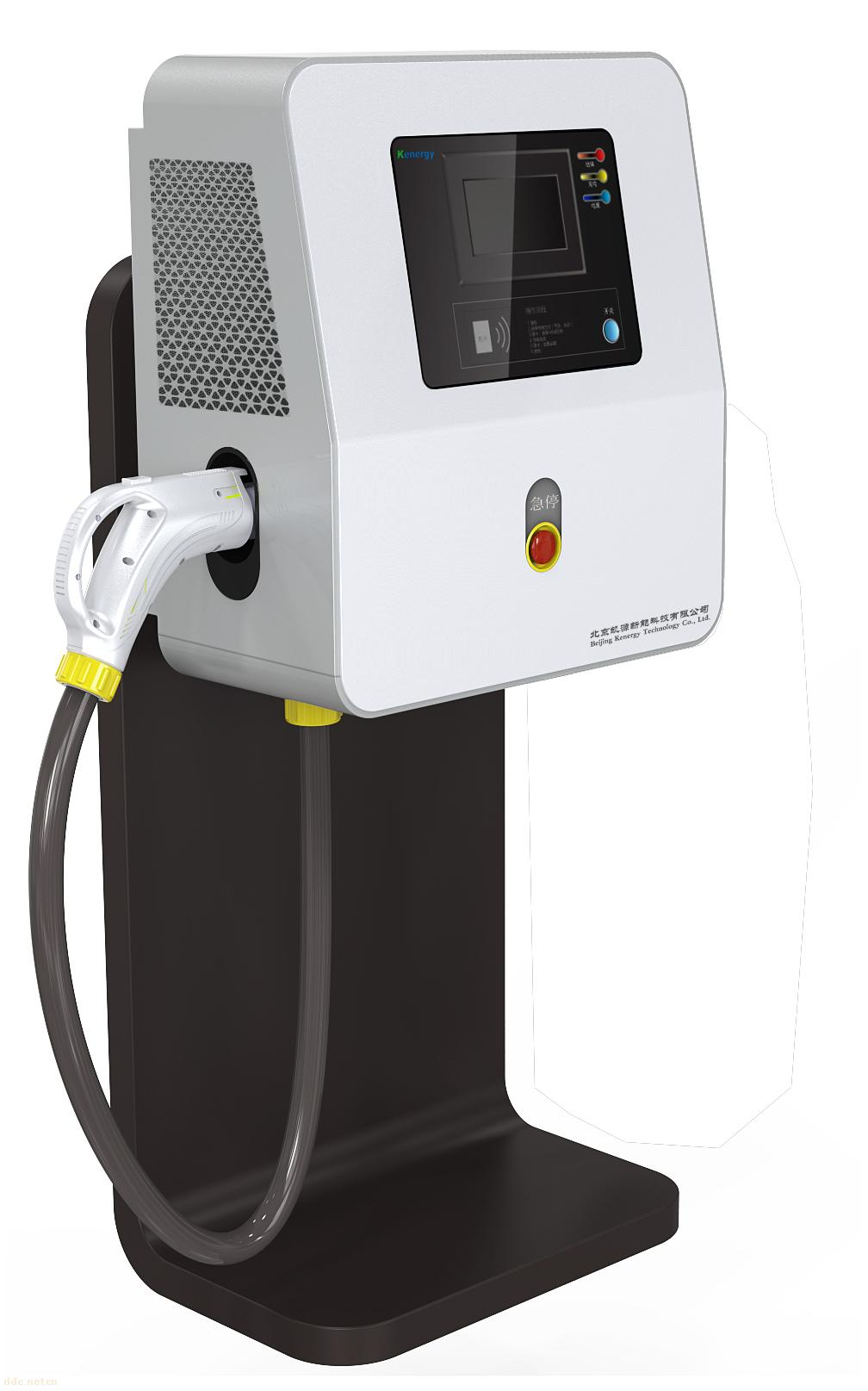 智能充电桩为电动汽车充电的辅助设备,提供充电接口、人机接口等功能,对电动汽车的充电进行控制。充电桩由嵌入式单片机经二次开发后作为主控制器,包括IC卡管理、充电接口管理、凭据打印、联网监控等功能,是充电操作人员进行操作的人机界面。包括30KW---120KW等几种规格,分交流充电桩,直流充电桩两种。