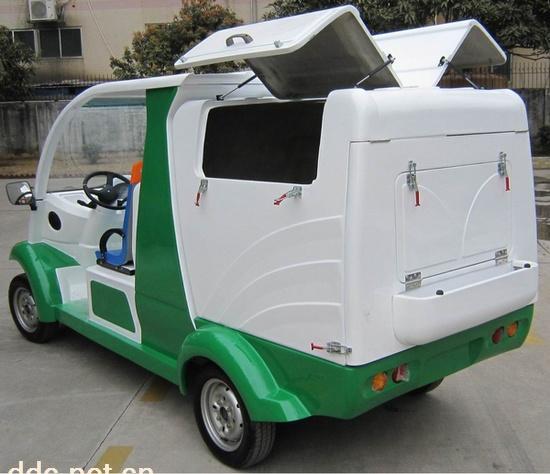 沃森新款电动环卫清运车款式新颖