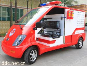 沃森2座电动微型消防车