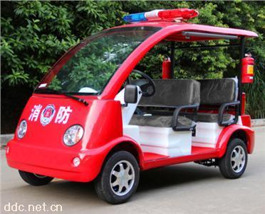 沃森5座电动消防车