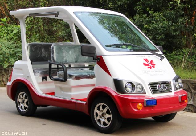 物业厂区保安用4/5座电动巡逻车