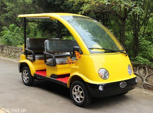 沃森4座电动观光车丨电动巡逻车