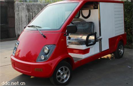 新款2座带细水雾功能电动消防车